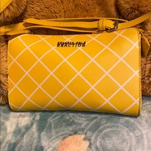 Kenneth Cole Reaction Yellow Cross Body